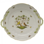 Rothschild Bird 14\ Chop Plate with Handles