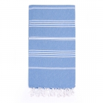 Bright Blue Turkish Towel