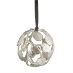Botanical Leaf Globe Ornament
