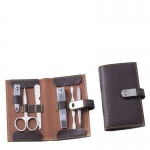 Six Piece Brown Manicure Set