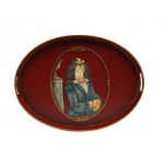 Oval Toleware Tray