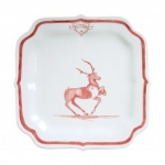 Country Estate Reindeer Games Blitzen Party Plate