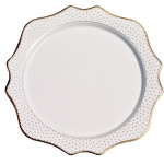 Simply Anna Antique Polka Charger