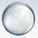 Clear World Globe