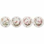 Chelsea Bird Set of Four Bread and Butter Plates