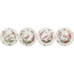 Chelsea Bird Set of Four Salad Plates