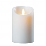 Ivory Wax Candle