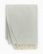 Celine Silver Sage Throw