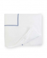 Grande Hotel White/Navy Full/Queen Duvet Cover