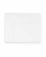 Grande Hotel White/White Full/Queen Flat Sheet