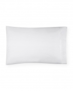 Grande Hotel White/White Standard Pillowcases, Pair