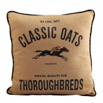 Equine Feed Bag Pillow