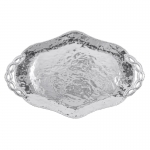 Filigree Handled Oval Tray