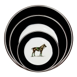Polo Horse Five Piece Place Setting