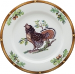 Game Birds Ruffed Grouse Charger/Buffet Plate