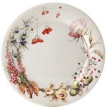 Bouquet Floral Set of Four Dinner Plates