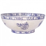 Oiseau Bleu Open Vegetable Bowl