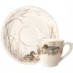 Sologne Tea Cup and Saucer