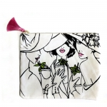 \Girls at the Races\ Canvas Pouch