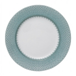 Green Lace Dinner Plate