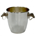 Champagne Bucket with Horses