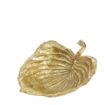 Hosta Medium Gold Serving Bowl