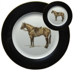 Hunter Horse Five Piece Place Setting