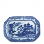 Blue Canton Medium Platter