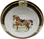 Imperial Horse Serve Bowl