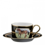 Imperial Horse Cup and Saucer