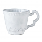 Incanto White Leaf Mug