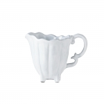 Incanto White Scallop Creamer