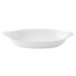 Berry & Thread Whitewash Large Shallow Baker