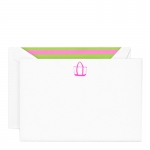 Engraved Beach Tote Corrsepondence Card