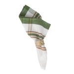 Green/Orange Country Plaid Napkin