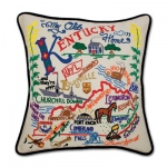 Kentucky Embroidered Pillow