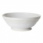 Le Panier Whitewash Footed Fruit Bowl