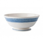 Le Panier White/Delft 11\ Footed Fruit Bowl