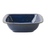 Puro Dappled Cobalt 10.5\ Rounded Square Serving Bowl