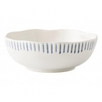Wanderlust Sitio Stripe Indigo Coupe Bowl