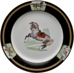 Imperial Horse Dessert Plate