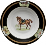 Cheval Chestnut Brown Rim Soup
