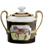 Imperial Horse Covered Sugar Bowl