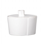 Lastra White Sugar Bowl