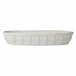 Le Panier Whitewash Bread Basket
