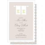 Linens Party Invitations