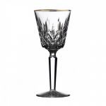 Lismore Tall Gold  Wine Glass