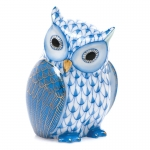 Blue Mother Owl