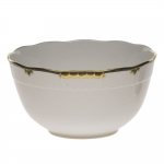 Princess Victoria Black Round Bowl