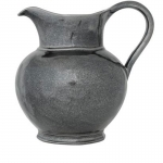 Pewter Stoneware Round Pitcher